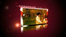红色经典系列之恋上红色AE模板