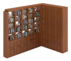 书柜模型模板下载 书柜模型图片下载