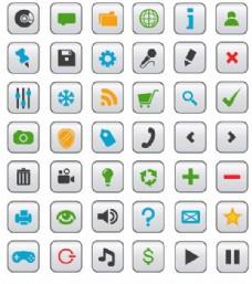 实用电话UI小图标矢量