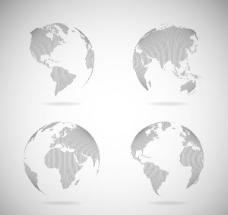 创意地球设计矢量素材下载