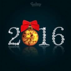 闪亮闪亮的2016新年快乐标语