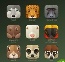 动物图标图片