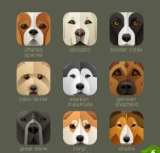 狗狗图标图片