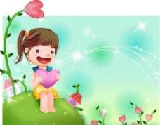 漫画儿童 卡通儿童 矢量 EPS格式 304