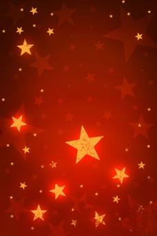 红色星星背景大图