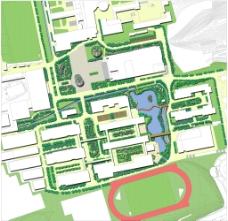 福建农林大学下安区景观改造