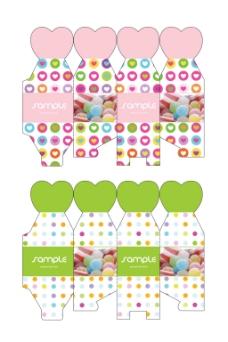 八宝糖糖果盒包装
