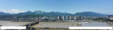 张家界天门山全景图片