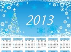 2013年圣诞快乐日历