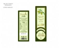橄榄油瓶贴设计