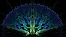 树状光影图片