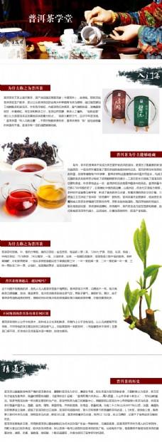普洱茶专题页