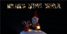 圣诞节祝福动画AE模版