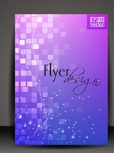 梦幻紫蓝色封面图片