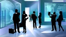 商务科技PSD分层素材