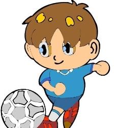 漫画儿童 卡通人物 矢量 CDR_0100