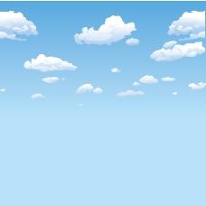 天空矢量素材
