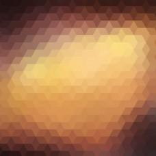 多边形形状抽象背景