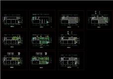 厂房办公室装修平面图CAD图纸