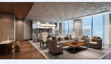 欧式 酒店会所3D模型素材max