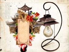 中国风元素psd素材