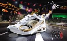 慢跑鞋广告图片psd素材