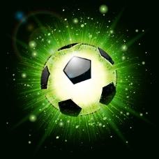 足球海报矢量素材