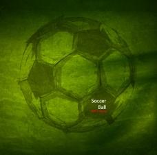 足球海报设计矢量素材