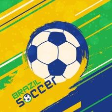 巴西世界杯背景矢量素材