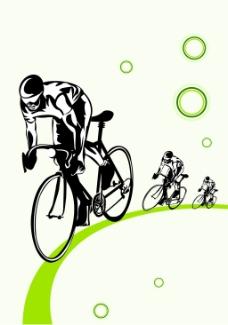 自行车广告设计