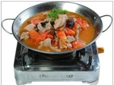 锅仔牛肉西红柿图片