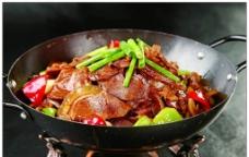 干锅带皮牛肉图片