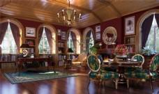 东南亚休闲书房