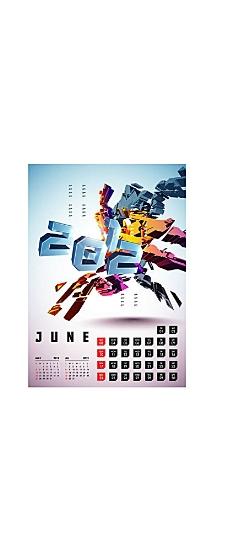日历挂历设计