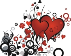 心型花纹图片