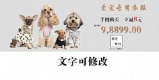 宠物用品海报设计图片