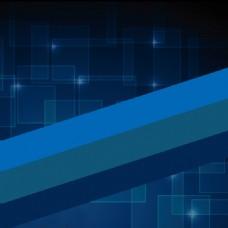 蓝色科技展板素材