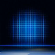 蓝色科技模板素材
