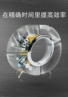 企业文化之提高效率海报psd素材