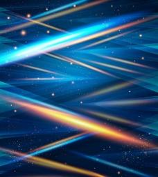 霓虹光束背景矢量素材
