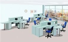 公司室内设计flash动画