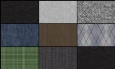 8种各类型布纹纹理填充图案