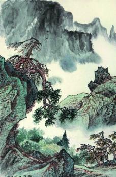 秋山晴翠图图片