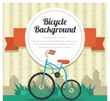 自行车背景素材
