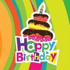 生日蛋糕背景