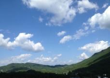 蓝天白云四川图片