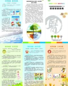 中医院医用折页图片