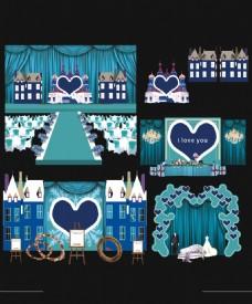 婚礼现场套系模板