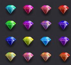 彩色钻石图片