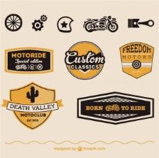 摩托车徽章